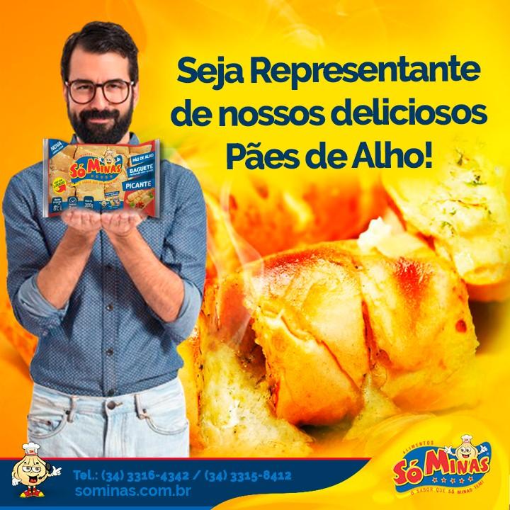 Seja Representante de nossos deliciosos Pães de Alho!