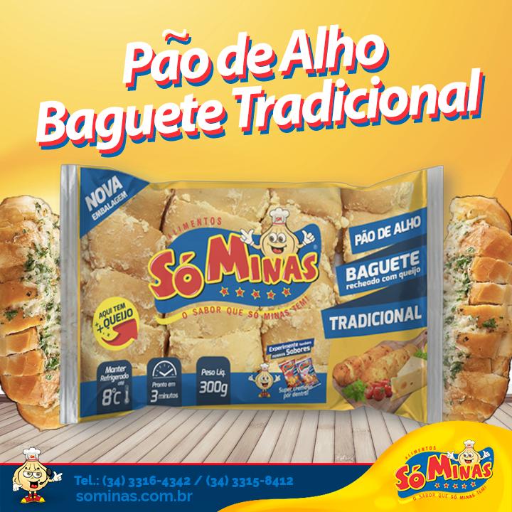 Pão de Alho Baguete Tradicional