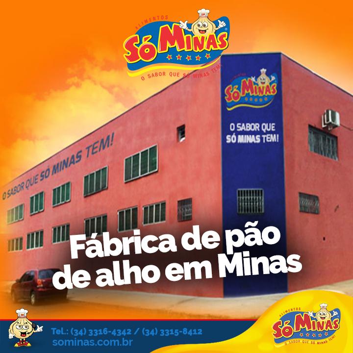 Fábrica de pão de alho em Minas Gerais