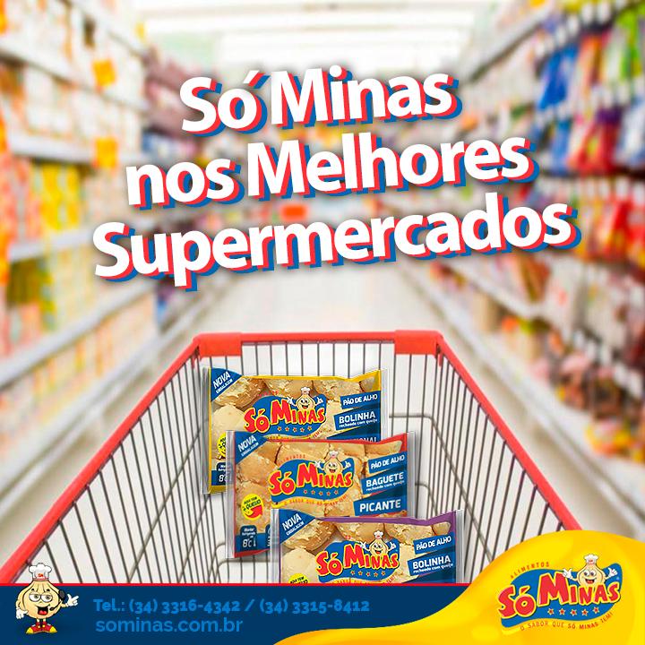 Só Minas nos melhores supermercados